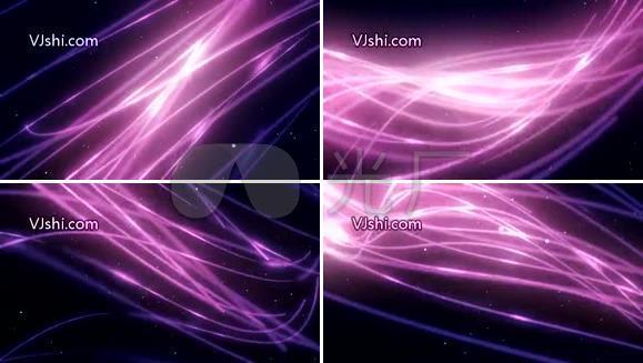 紫色线条绚丽
