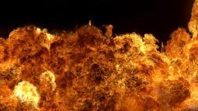 高清 烈火 燃烧 爆炸