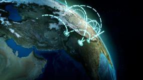 网络 地球
