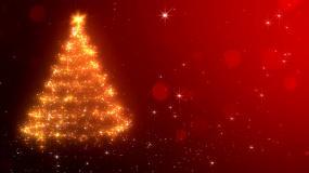 圣诞节背景 圣诞树