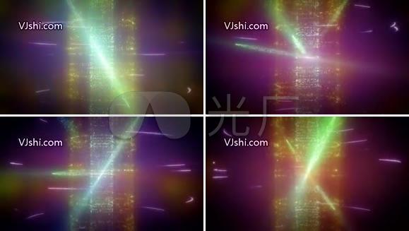 超炫动态粒子视频