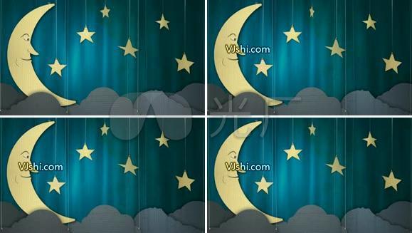 2012新货,星星月亮背景,VJ Ansong 1280X720