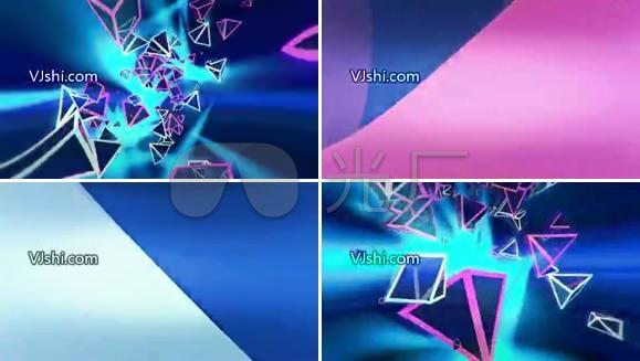 2012新货,节奏凌形VJ素材,VJ Ansong 1280X720