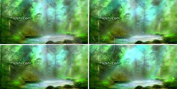仙境 森林 树林