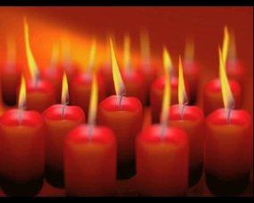 感恩节 烛光