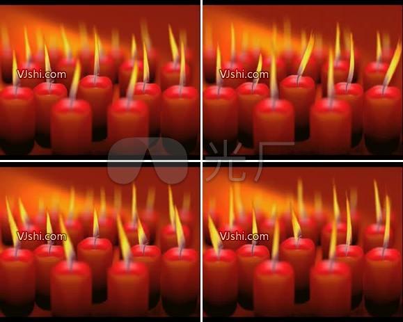 感恩节 烛光 蜡烛