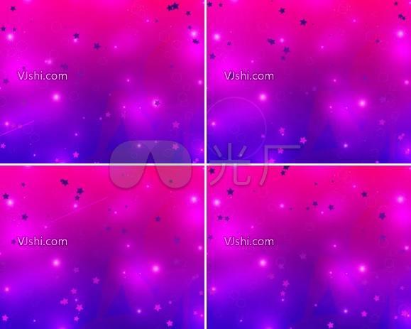紫色的星点