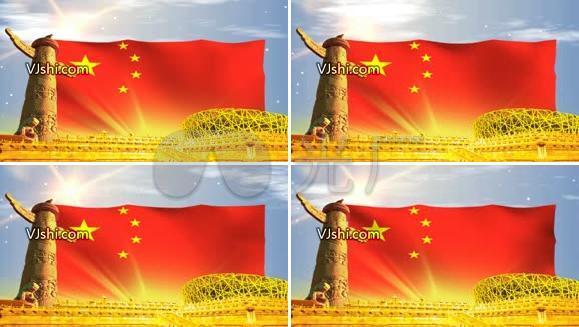 华表 鸟巢 国庆 十一