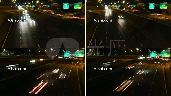 车流 城市 街道 交通高速公路