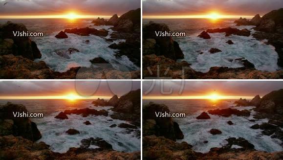 高清-海洋-日出