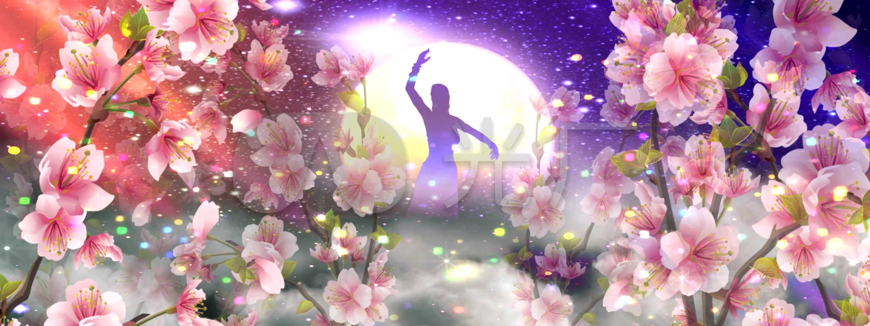 柔情似水数字_中班里的舞蹈(快分数)_2880X1神话嫦娥仙子备课图片