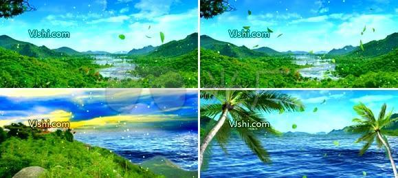 海南 唯美风景 五指山