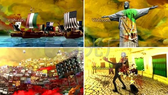 巴西世界杯主题片