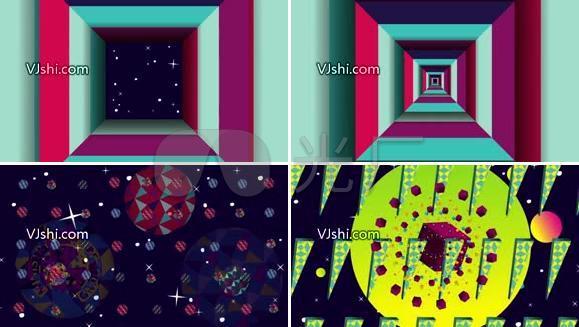 极品 节奏感 色彩变换  纵深感