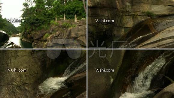 山泉  小溪 流水 高清影视素材