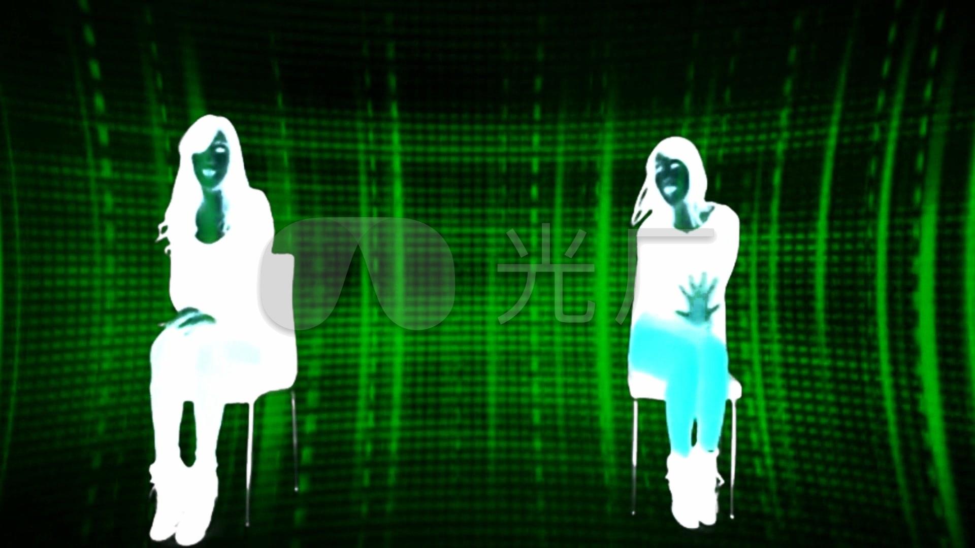 剪影性感舞女跳舞蹈酒吧歌厅背景素材图片