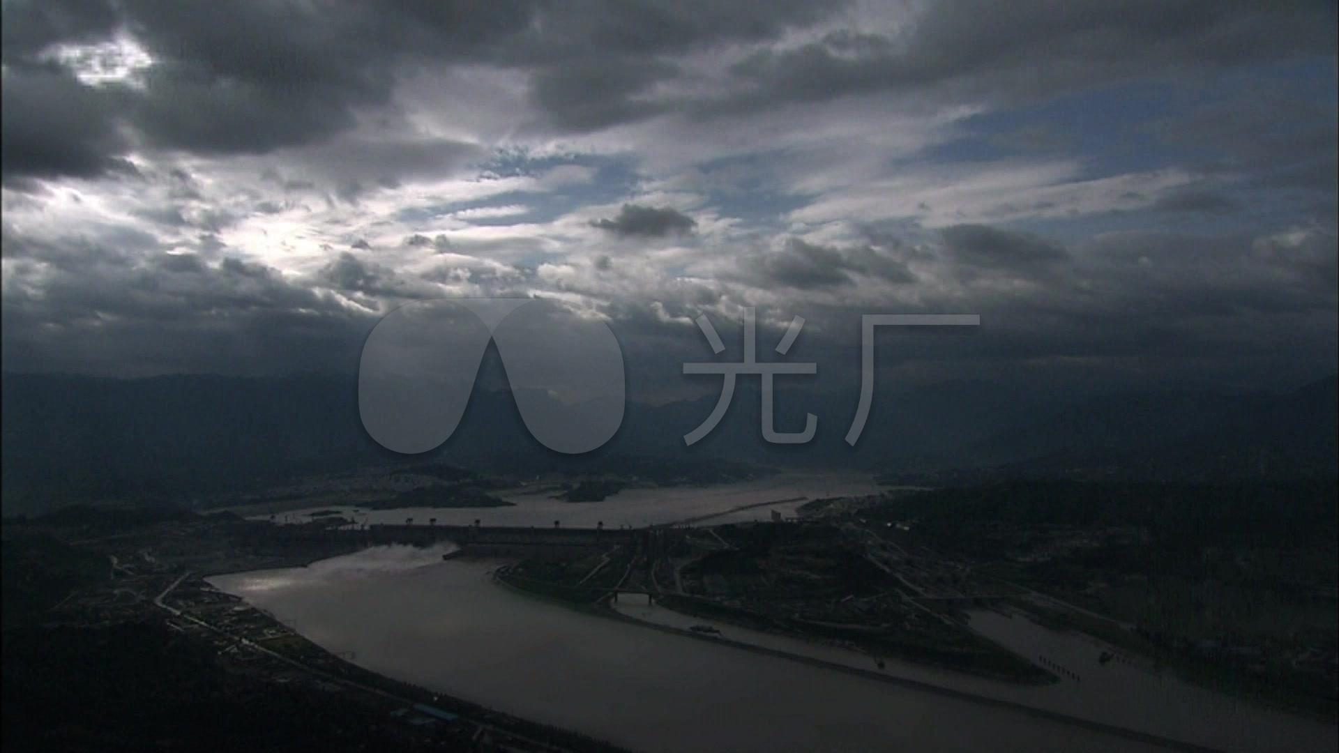 长江三峡大坝发电站视频泄洪v视频景色_1920X豆水坝仁图片