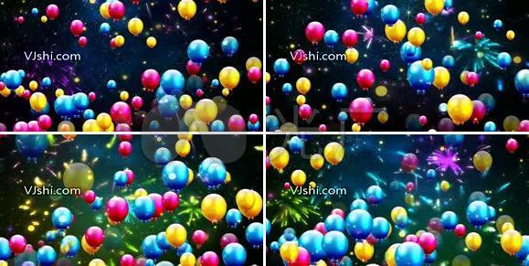 飞舞的气球