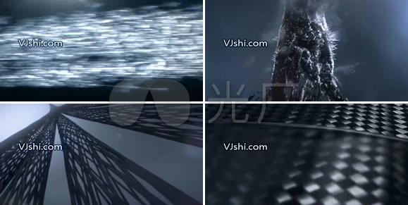 超赞粒子变换视频