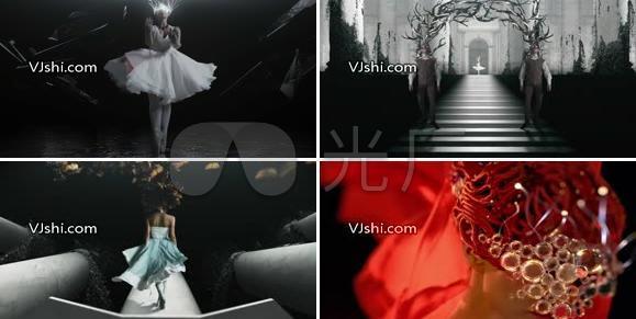 唯美大气芭蕾舞视觉艺术