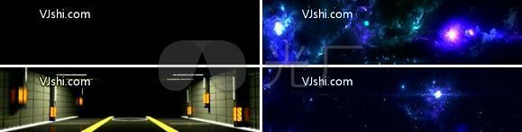 高科技极品全息视频互动秀电光舞
