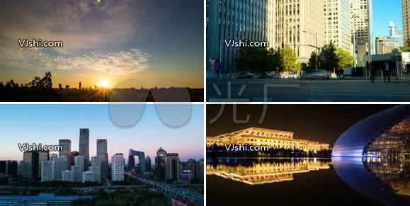 首都城市延时摄影