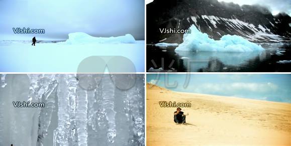 海滩美女风雪冰川风景旅游自然景观_1280X7视频沙漠牛奶性感喝图片