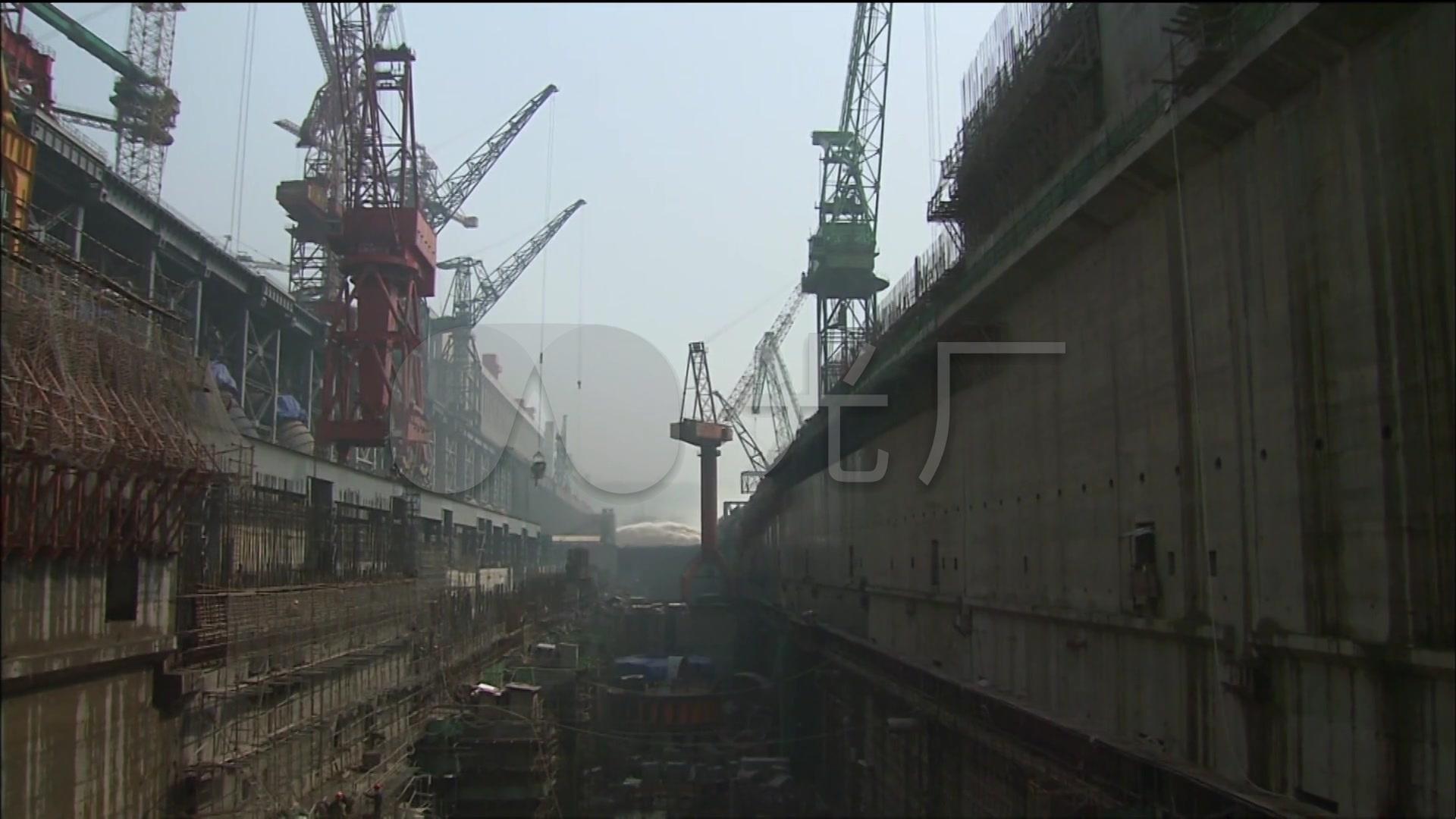 长江三峡大坝泄洪水利工程发电站建设_1920X语视频导入图片