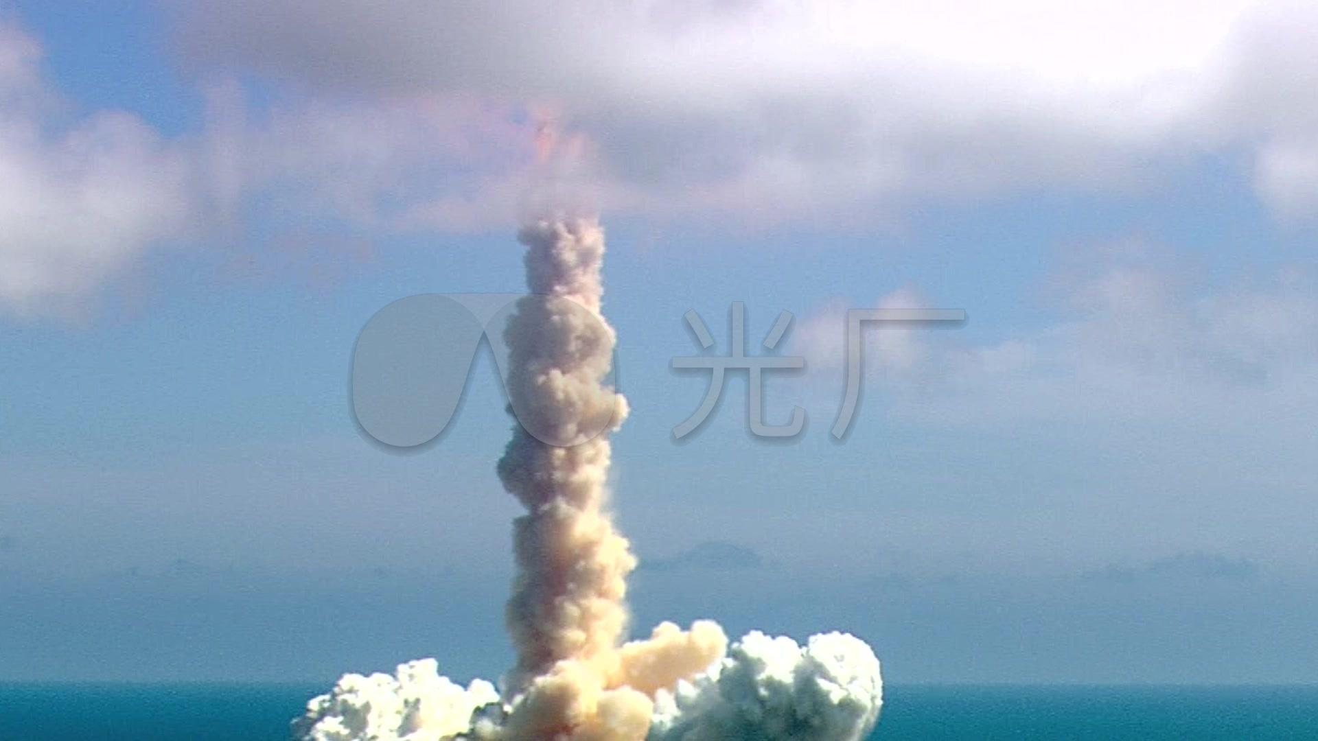 航天飞机火箭发射升空_1920x1080_高清视频素材下载