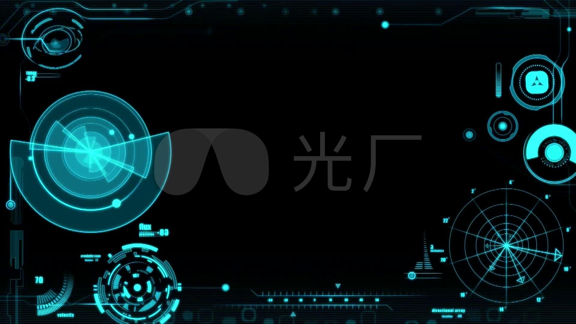 科幻,科技,電子,未來科技背景,視頻循環圖片
