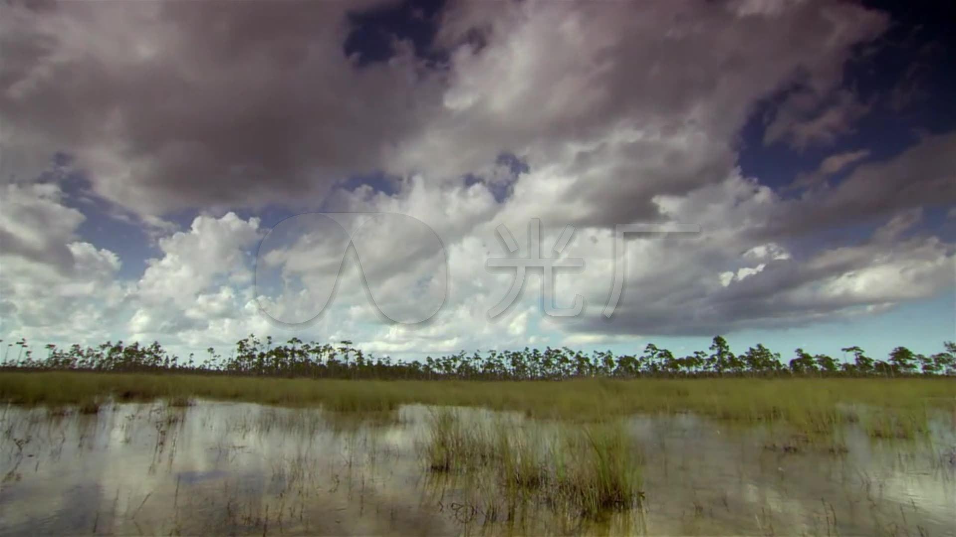 延时打雷下雨风景_1920x1080_高清视频素材下载(编号