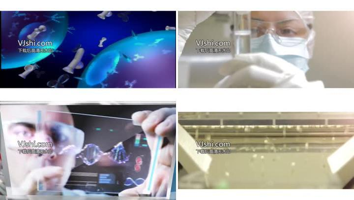 医院视频_医疗实验细胞研究医院宣传片医疗教育实拍视频素材下载
