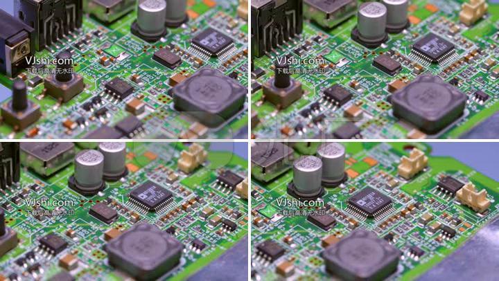 电子元件集成电路高科技广告宣传视频