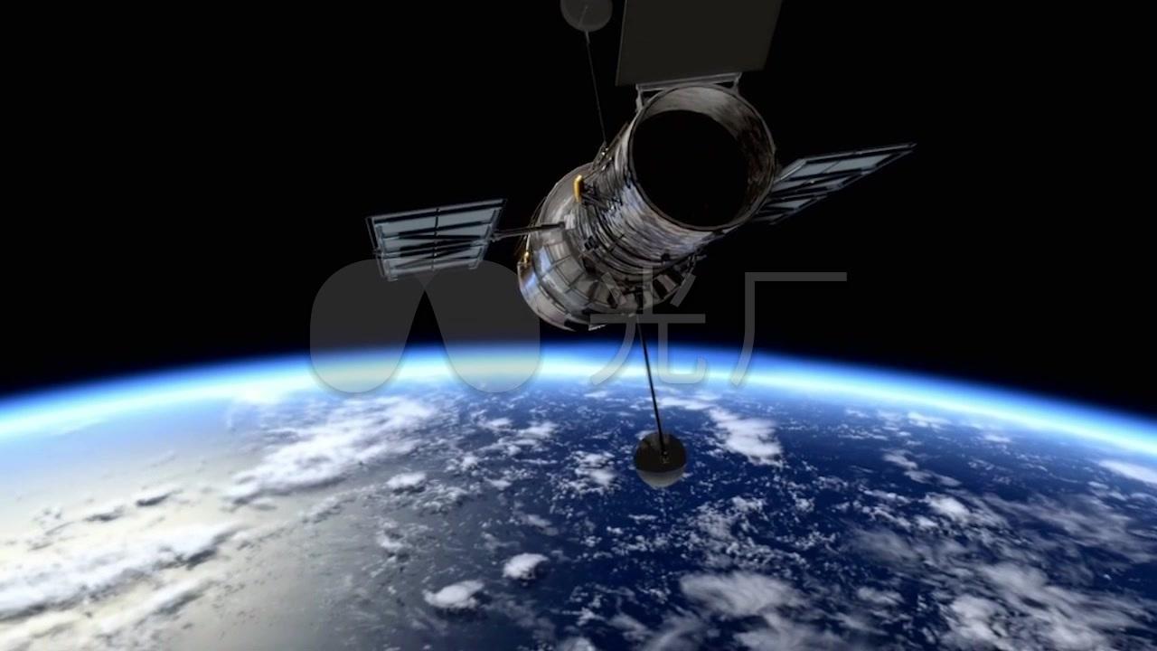 航天飞机宇航员_1280x720_高清视频素材下载(编号:)
