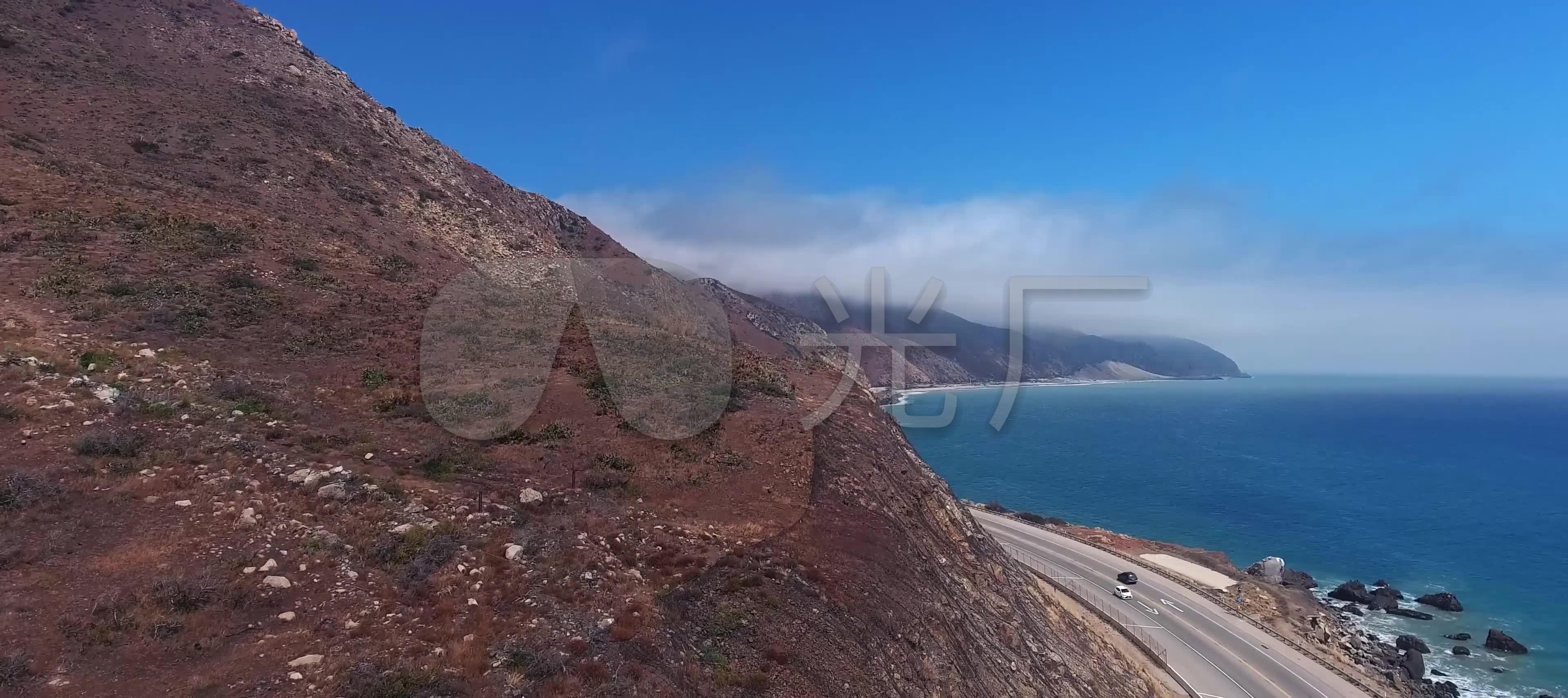 海边公路汽车_3840x1710_高清视频素材下载(编号:574)