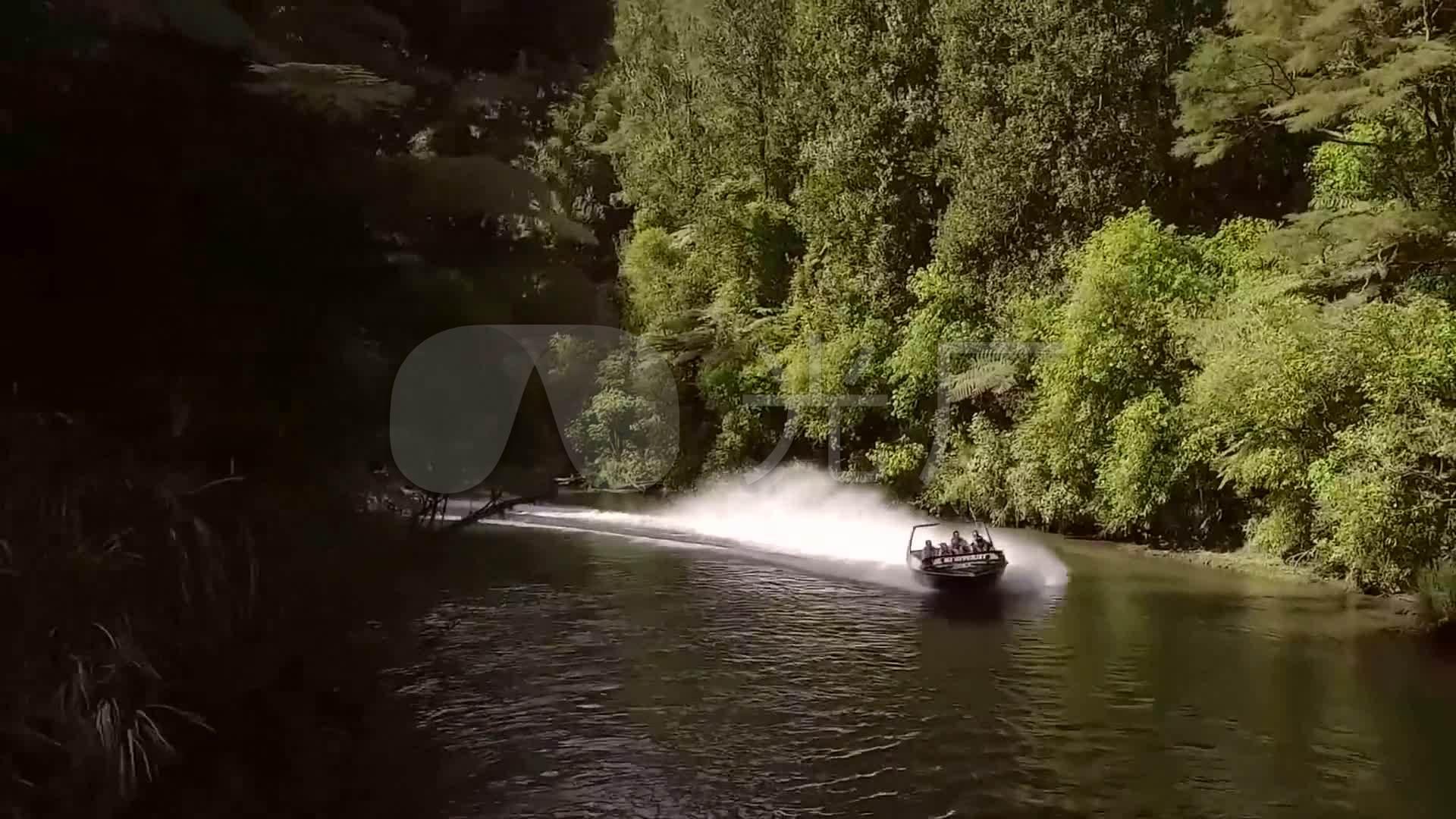 游船山谷视频河流雪山自然风光_1920X1080_墙装修草原拆图片