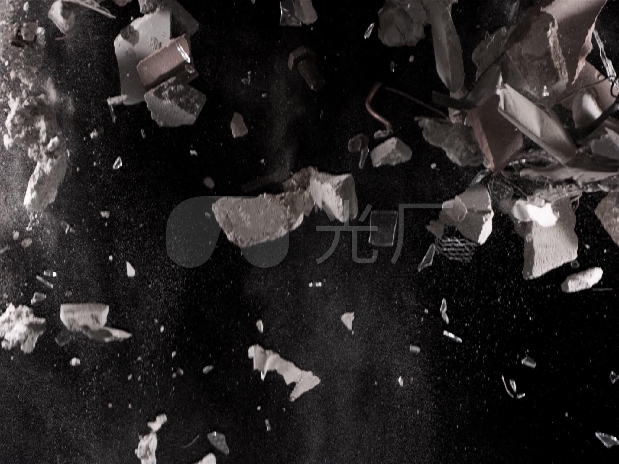 坍塌视频视频播放视频_2048X1536_高清特效素材合成名姝图片
