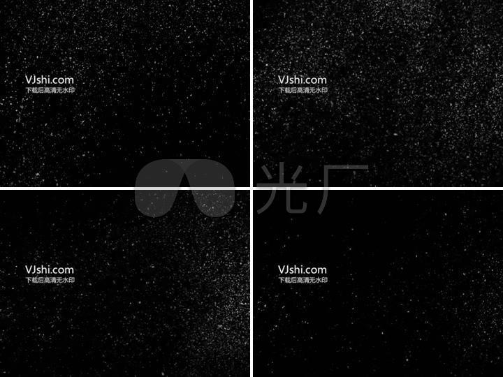 合成手法高清下雪视频_2048X1536_特效包子素材视频视频图片