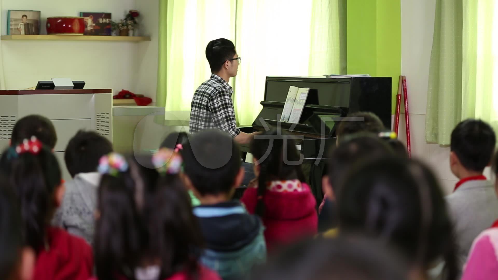 音乐高清素材上课_1920X1080_小学视频小学冼可澄老师图片