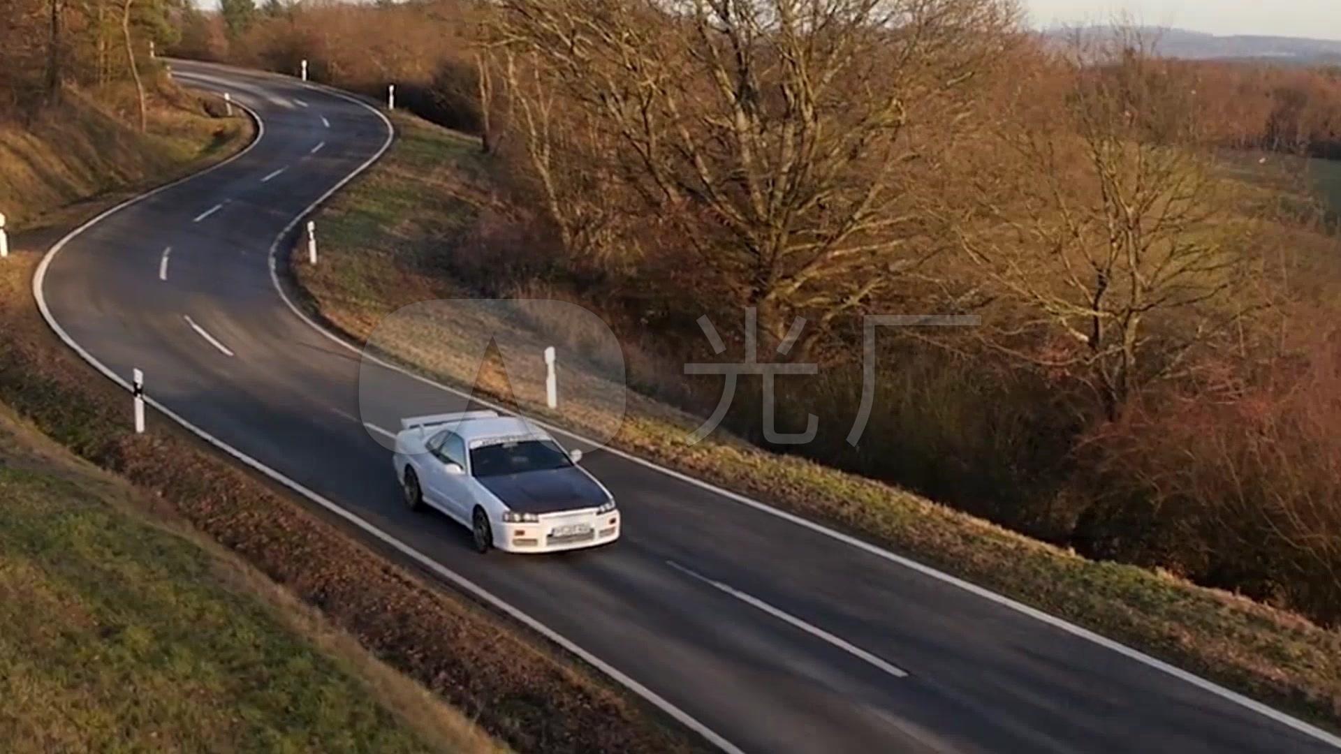 尼桑车路跑视频_1920X1080_素材视频素材下蔻v视频新高清图片