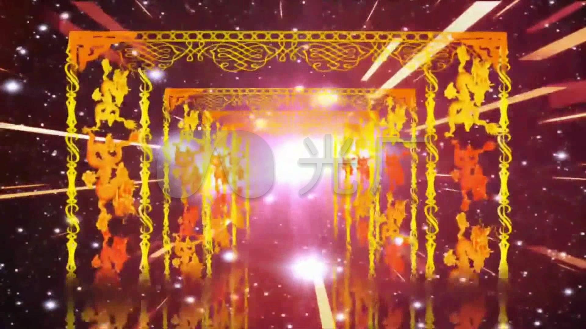 歌曲舞蹈《中国范儿》背景视频_1920X1080_高清视频素材下载(编号:770205)_舞台背景