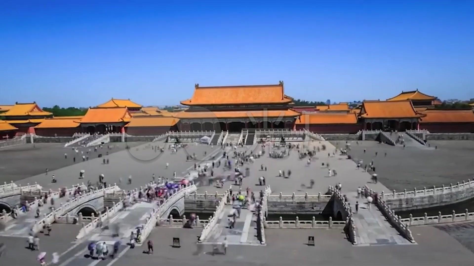 故宫博物院视频素材_1920X1080_高清视频素