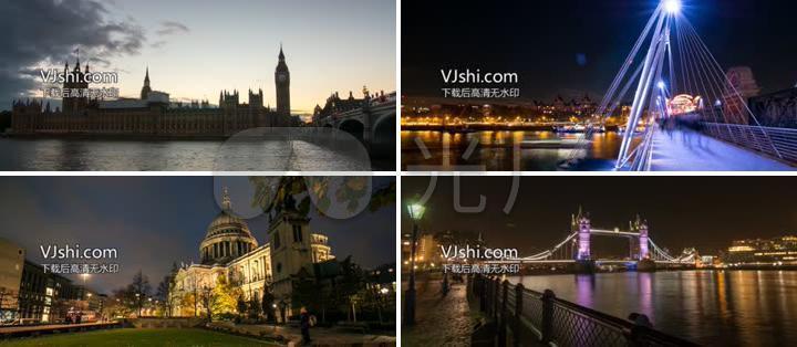 国际大都市伦敦美景