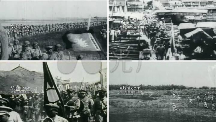 国民革命军北伐历史镜头
