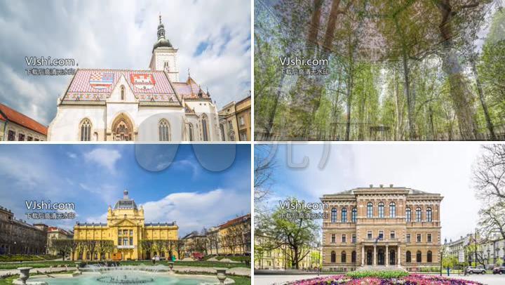 克罗地亚萨格勒布城市宣传片