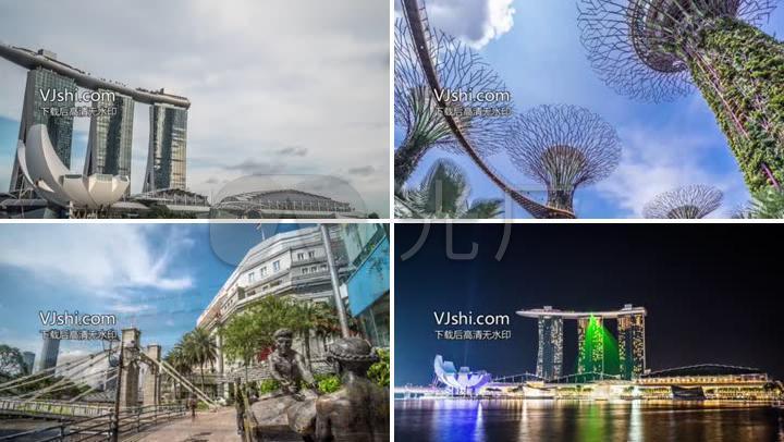 新加坡城市景观
