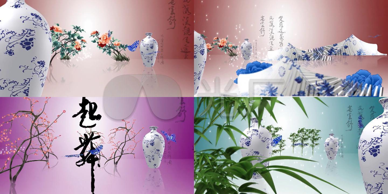青花瓷传统美中国风