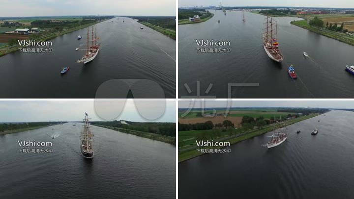 大运河帆船