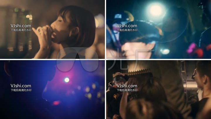 舞会跳舞DJ舞曲聚会实拍炫酷视频素材