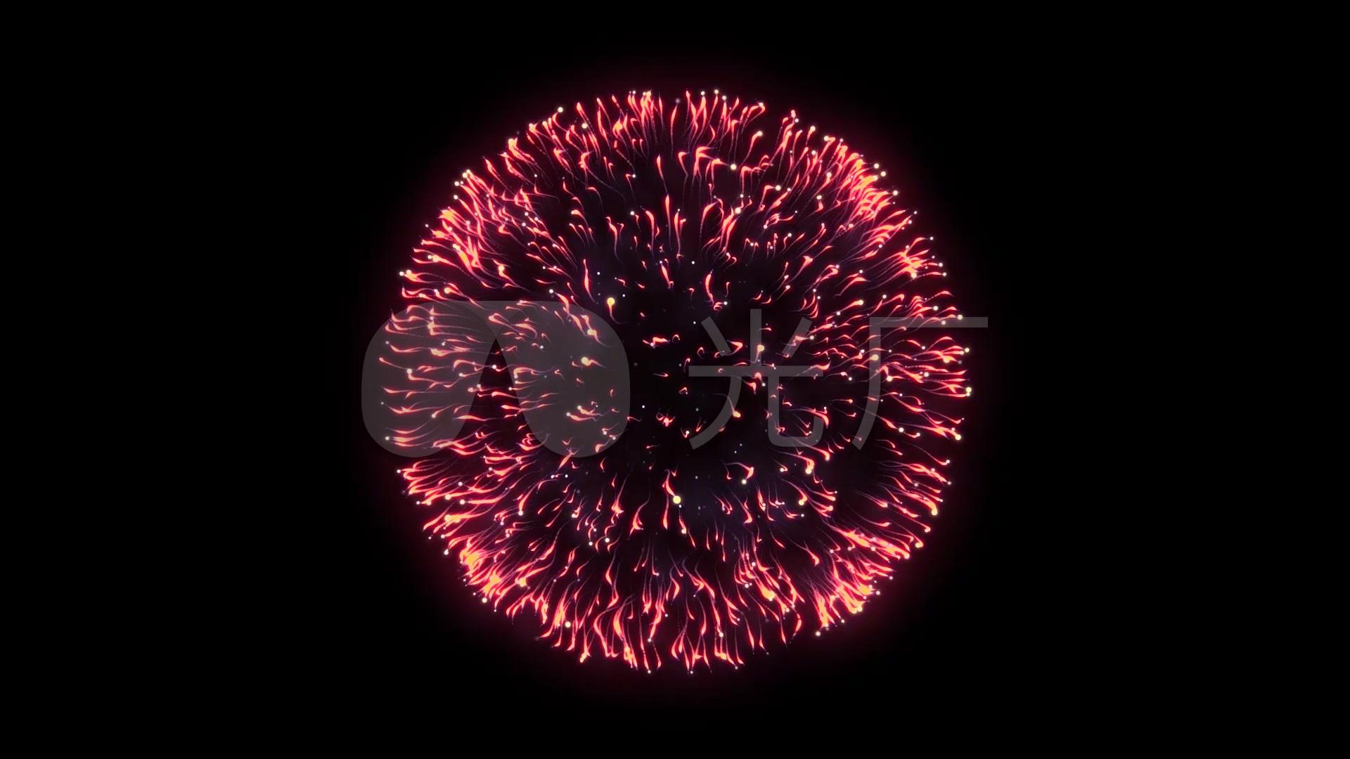 炫目手机烟花v手机视频高清_1920X1080_视频礼花素材全屏图片